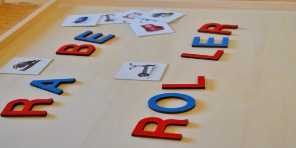 Bewegliches Alphabet, Silben, lange und kurze Vokale