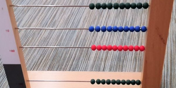 Stellenwertrahmen Montessori-Material